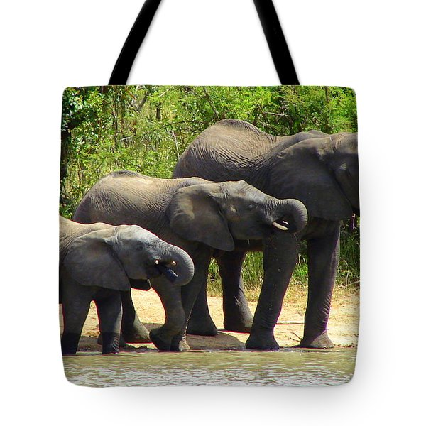 Synchronized Drinking Tote Bag