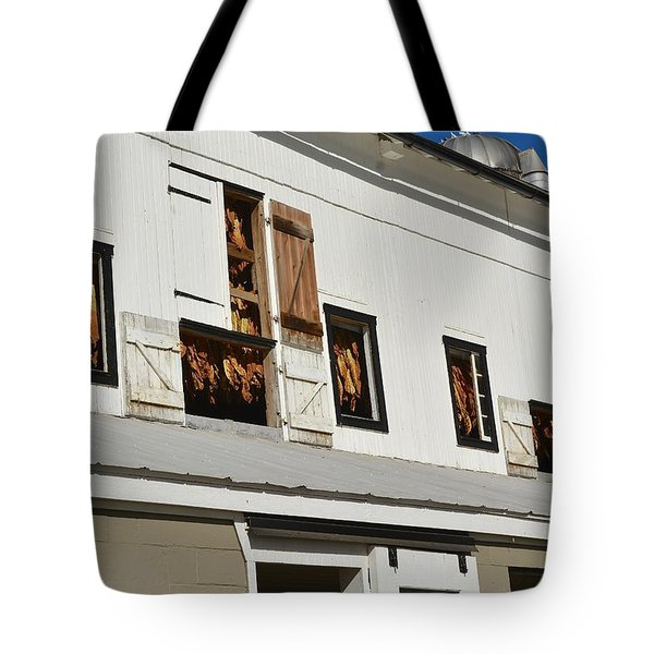 Syncopated Tobacco Barn Tote Bag