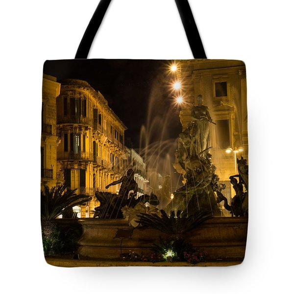 Syracuse - Diana Fountain  Tote Bag