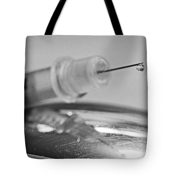 Syringe  Tote Bag by Shoal Hollingsworth