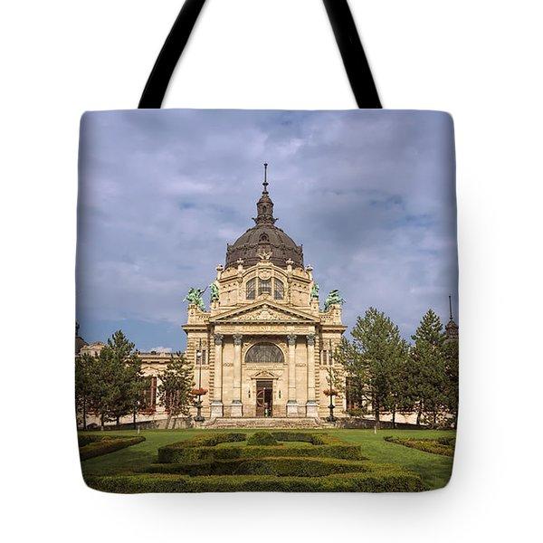 Szechenyi Baths Budapest Hungary Tote Bag