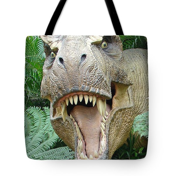 T-rex Tote Bag by David Nicholls
