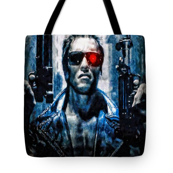 T800 Terminator Tote Bag