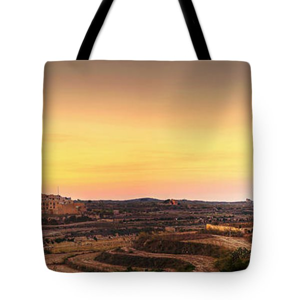 Ta Pinu And Gharb Tote Bag by Ian Good