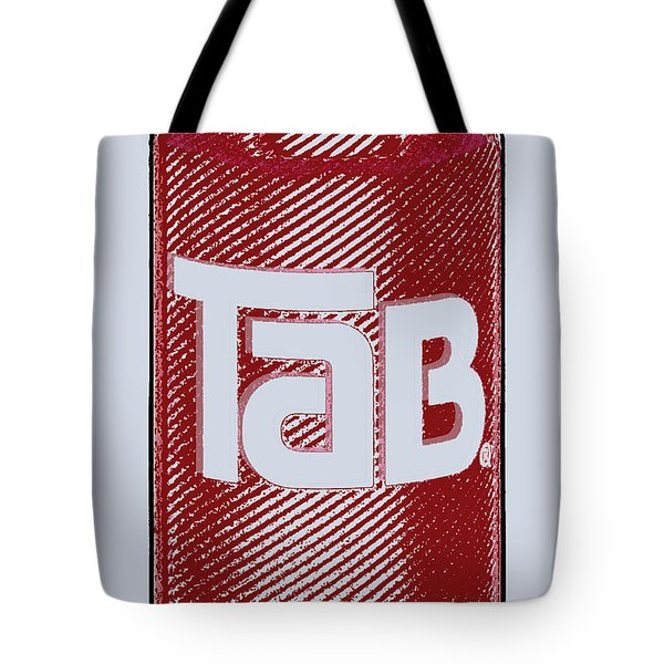 Tab Ode To Andy Warhol Tote Bag by Tony Rubino