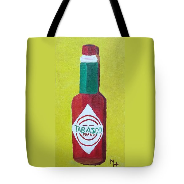 Tabasco Brand Pepper Sauce Tote Bag