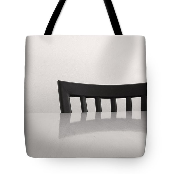 Table And Chair Tote Bag by Don Spenner
