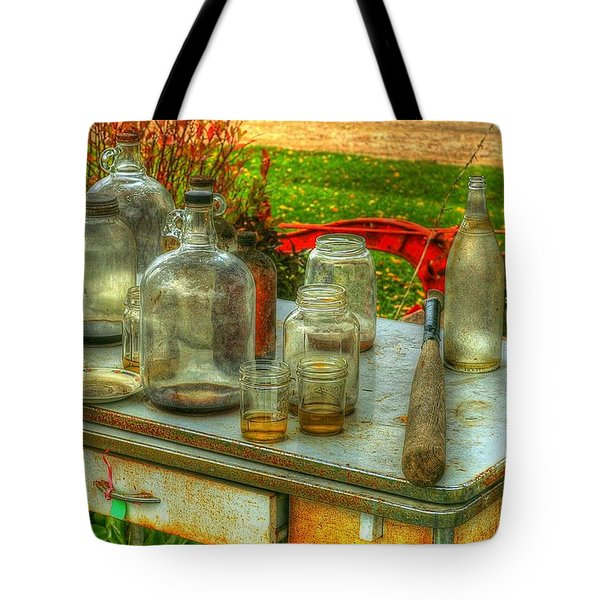Table Collections Tote Bag by Randy Pollard