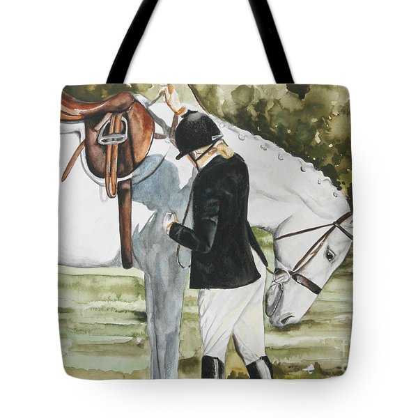 Tacking Up Tote Bag