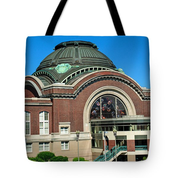 Tacoma Court House At Union Station Tote Bag by Tikvah's Hope