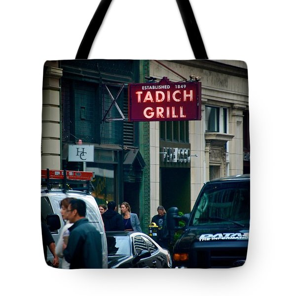 Tadich Grill Tote Bag