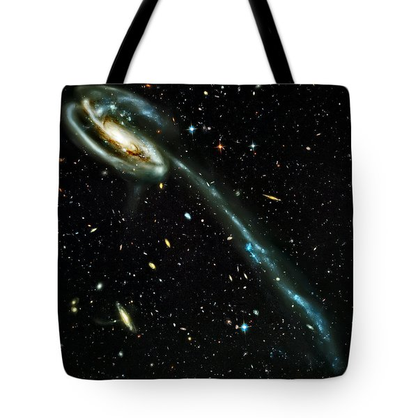Tadpole Galaxy Tote Bag by Jennifer Rondinelli Reilly - Fine Art Photography
