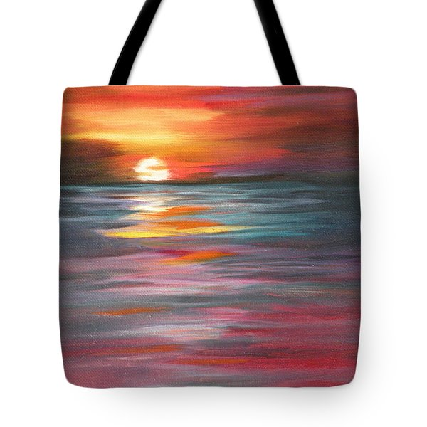 Tahitian Sunset Tote Bag