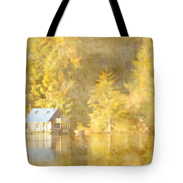 Tahkenitch Lake Oregon Tote Bag