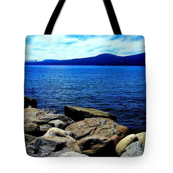 Tote Bag featuring the photograph Tahoe Magic by Bobbee Rickard