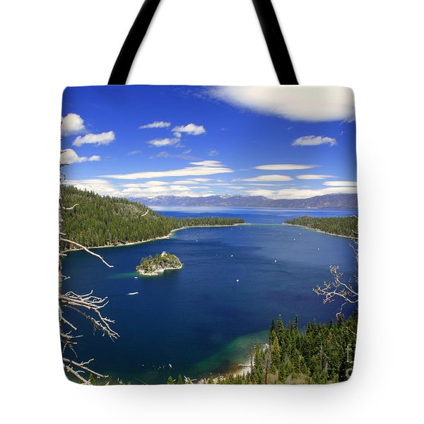 Tahoe's Emerald Bay Tote Bag
