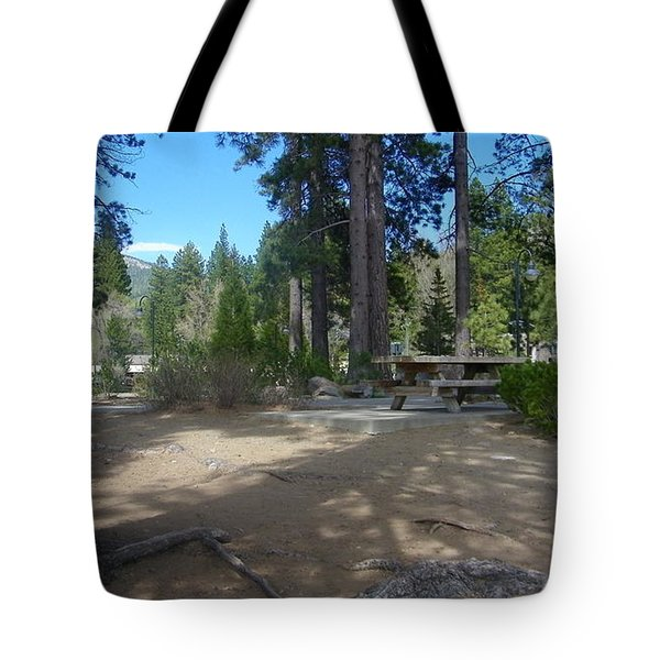 Tote Bag featuring the photograph Tahoe's Summer Invitation by Bobbee Rickard