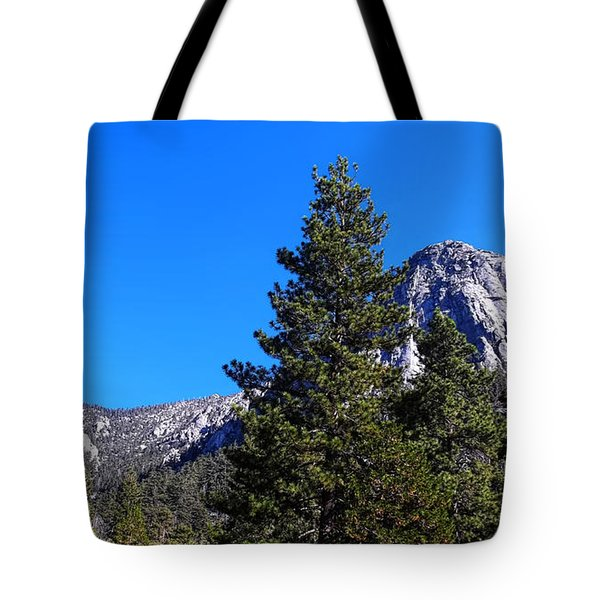 Tahquitz Rock - Lily Rock Tote Bag