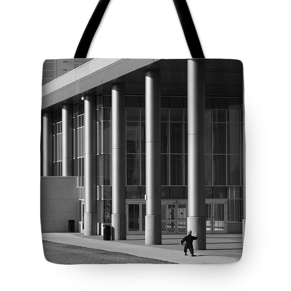 Tai Chi Tote Bag by Don Spenner