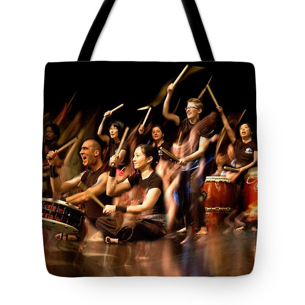 Taiko Flow Tote Bag