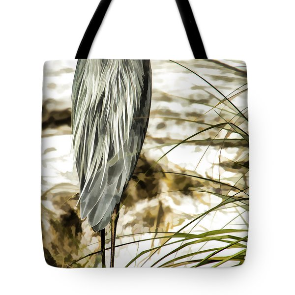 Tail Feathers Tote Bag