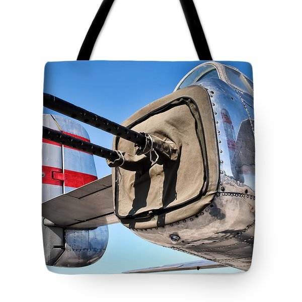 Tail Gunner Tote Bag
