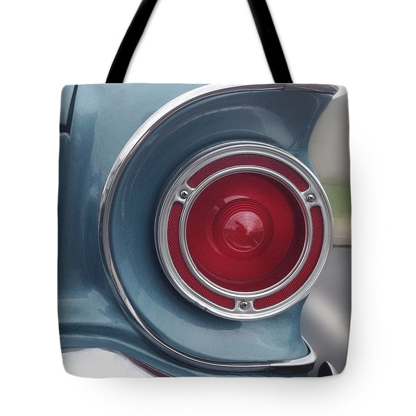 Tail Light Ford Falcon 1961 Tote Bag by Don Spenner