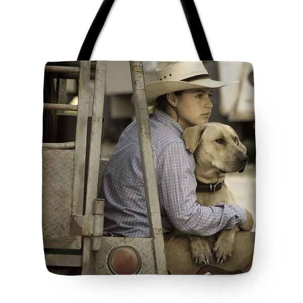 Tailgate Friends Tote Bag by Steven Bateson
