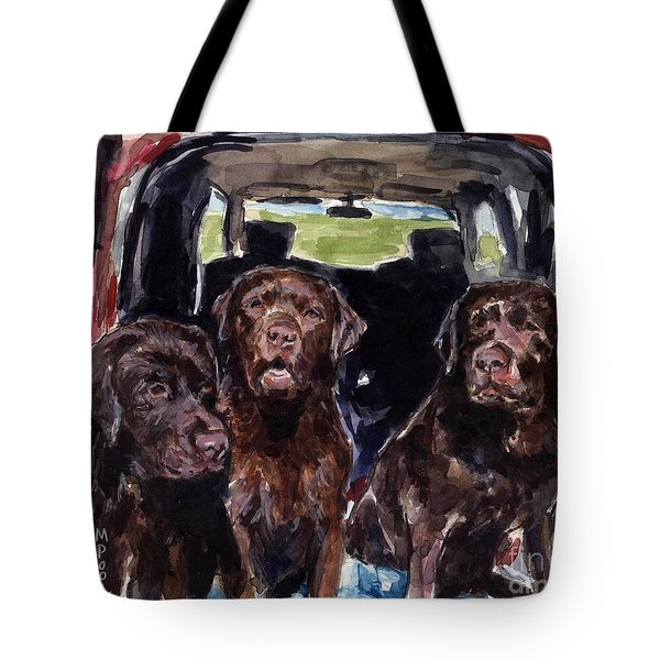 Tailgaters Tote Bag by Molly Poole