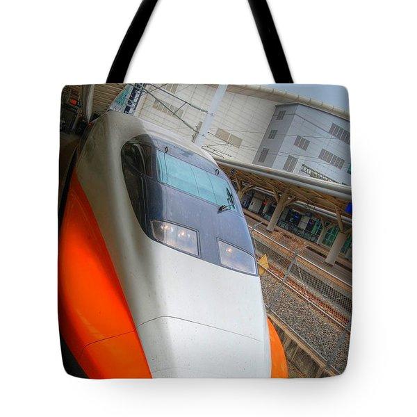 Taiwan Bullet Train Tote Bag