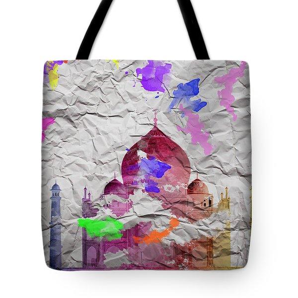 Taj Mahal Tote Bag by Image World