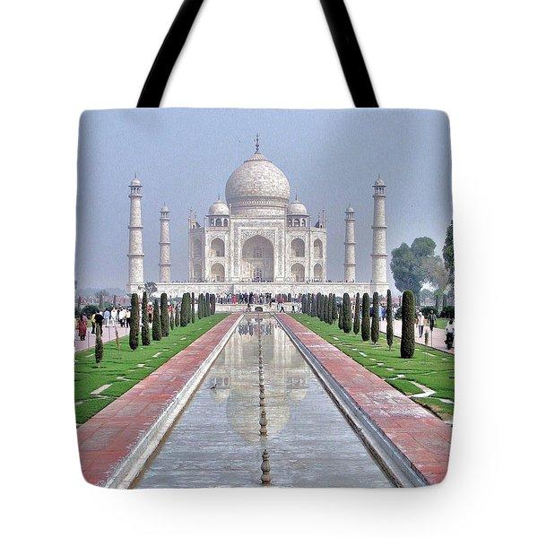 Taj Mahal Tote Bag by Kim Bemis