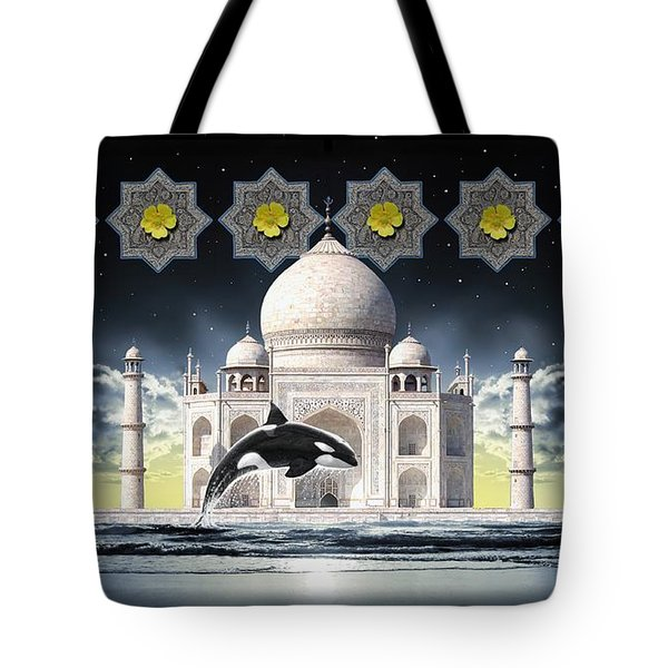 Taj Tote Bag by Scott Ross