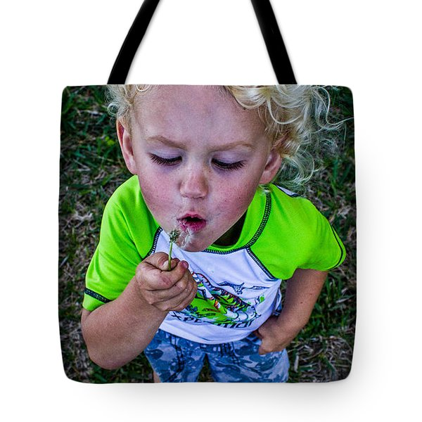 Tote Bag featuring the photograph Taj by Tyson Kinnison