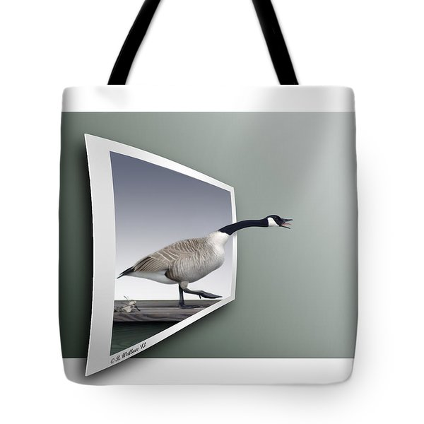 Take A Gander Tote Bag by Brian Wallace