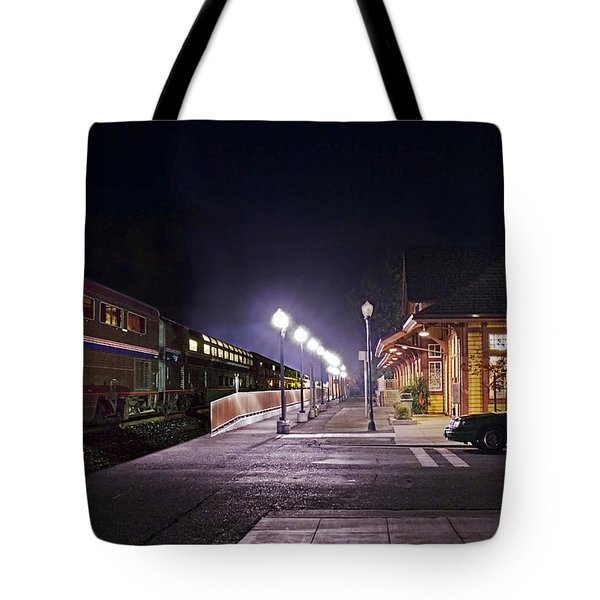 Take A Ride On Amtrak Tote Bag