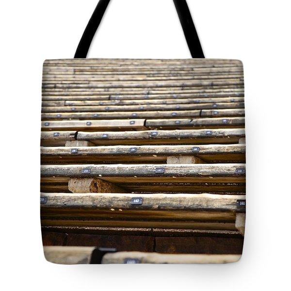 Take A Seat Tote Bag by Charlie Brock