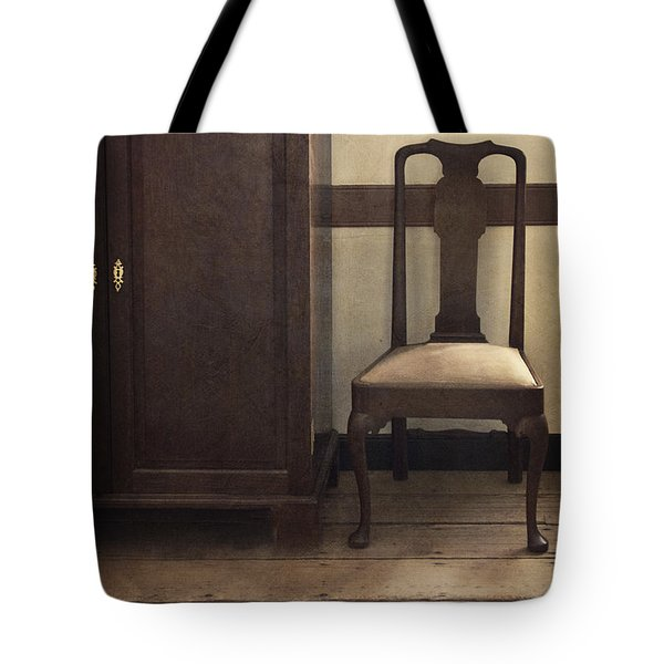 Take A Seat Tote Bag by Margie Hurwich