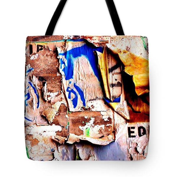 Take A Stand Tote Bag by Christiane Hellner-OBrien
