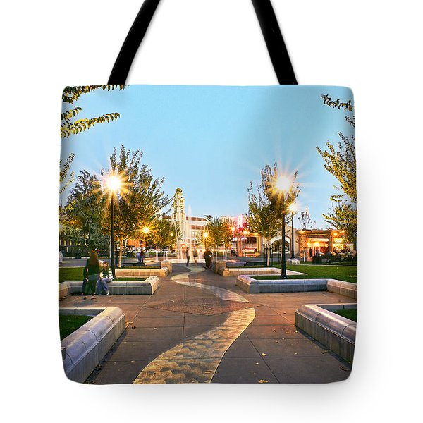 Take A Walk Downtown  Tote Bag
