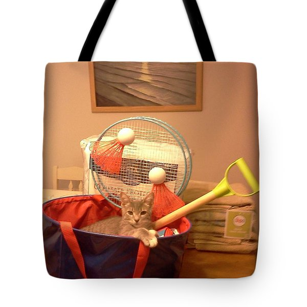 Take Me To The Beach Tote Bag by Stacy C Bottoms
