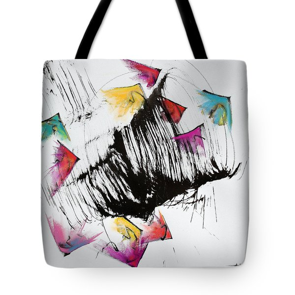 Take Off Tote Bag by Asha Carolyn Young
