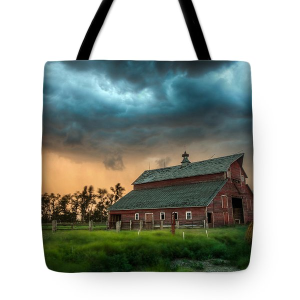 Take Shelter Tote Bag