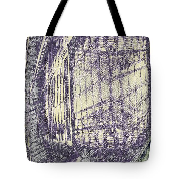 Take The Back Door  Tote Bag by CR Leyland