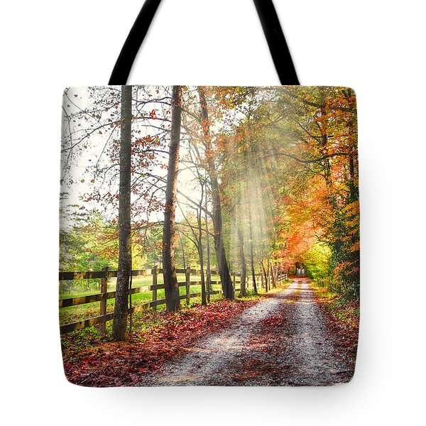 Take The Back Roads Tote Bag