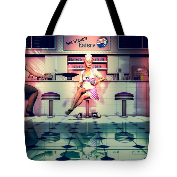 Taking A Break Tote Bag by Bob Orsillo