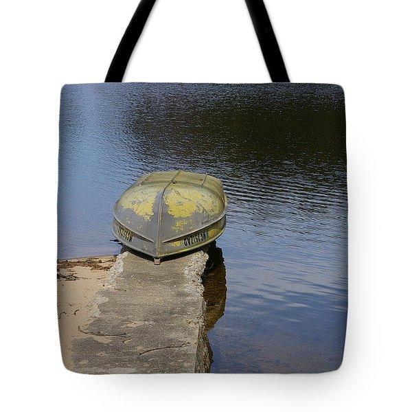 Taking A Break Tote Bag by Randy Pollard