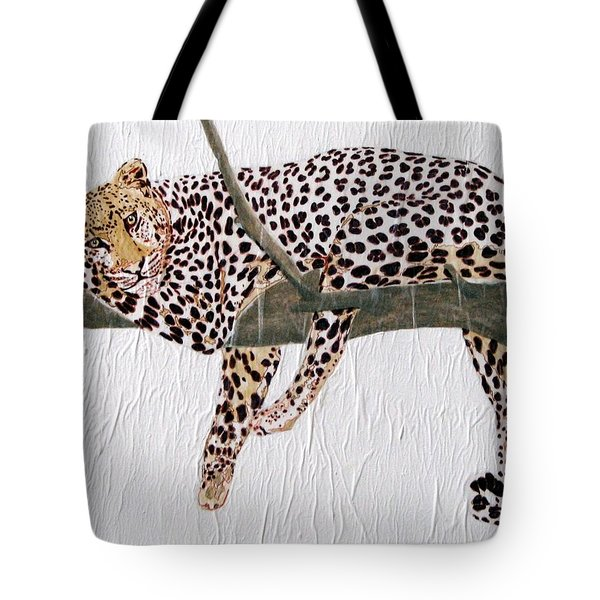 Tote Bag featuring the painting Taking A Break by Stephanie Grant