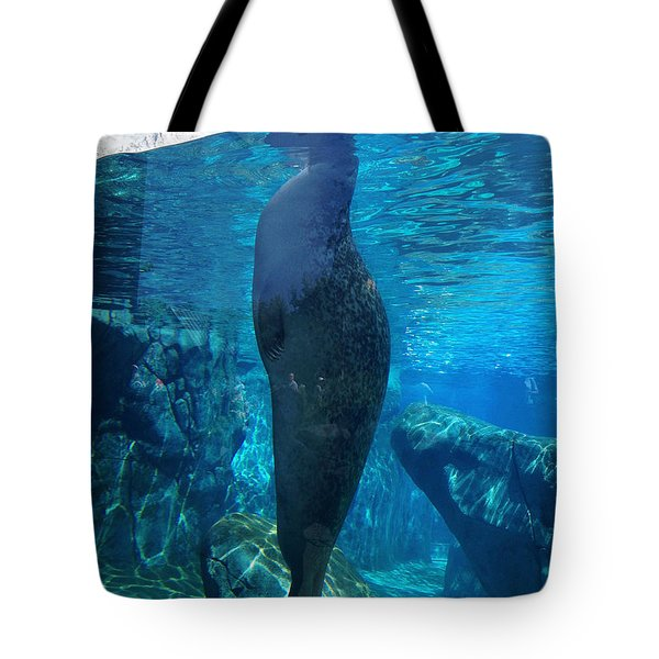 Taking A Peek Tote Bag by Luther Fine Art