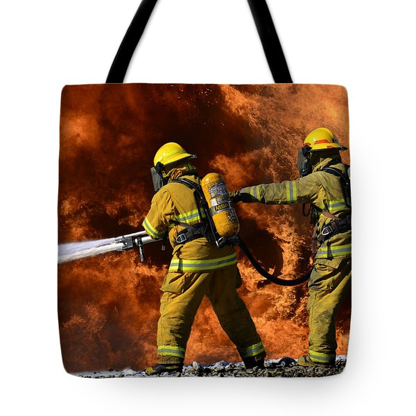 Taking A Stand Tote Bag by Bob Christopher